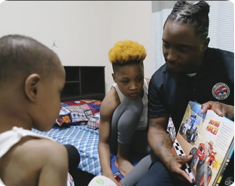 Magic of Storytelling: Providing books for families in need