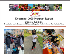 Smart from the Start's December 2020 Program Report